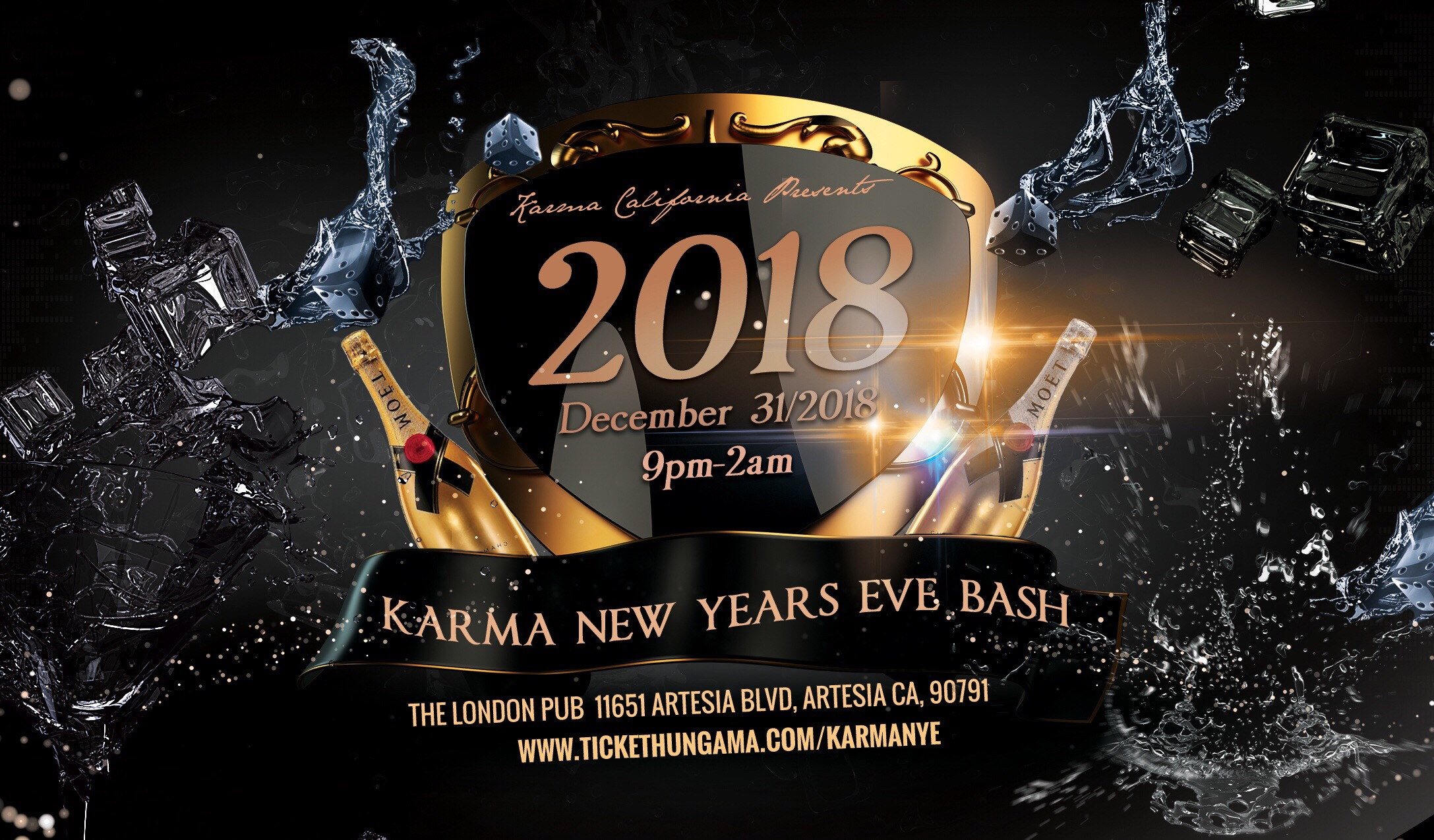 KARMA NEW YEAR'S EVE 2018
