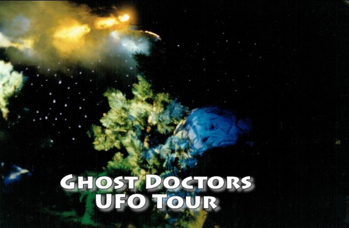 Ghost Doctor's NYC UFO Tour In the American Museum of Natural History...Experience it!