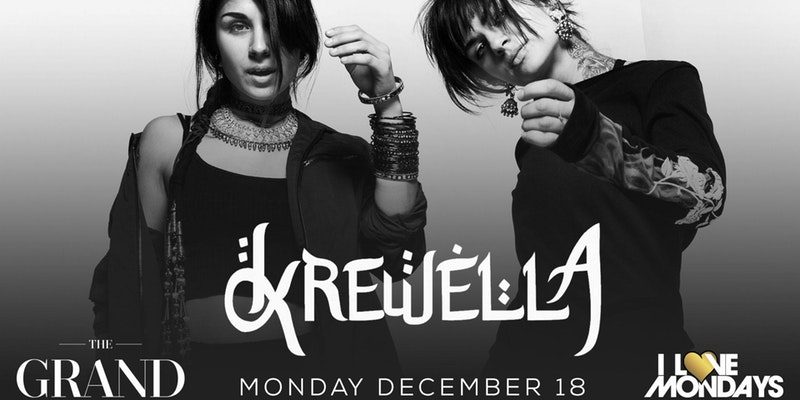 I Love Mondays feat. Krewella | The Grand | 12.18.17