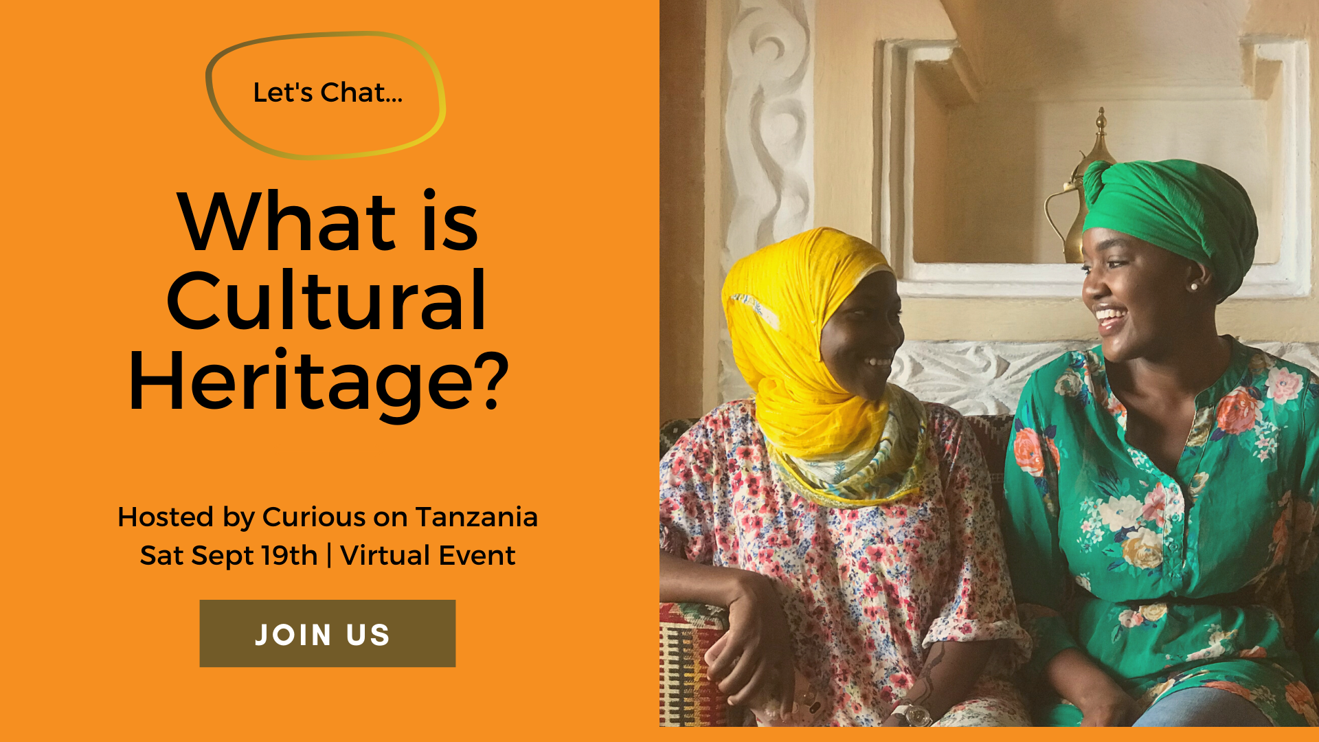 Let's Chat: What is Cultural Heritage + Tanzania