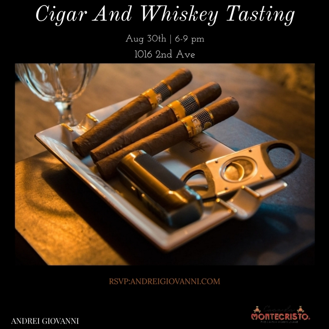 Cigars, Whiskey, And Suits With Andrei Giovanni