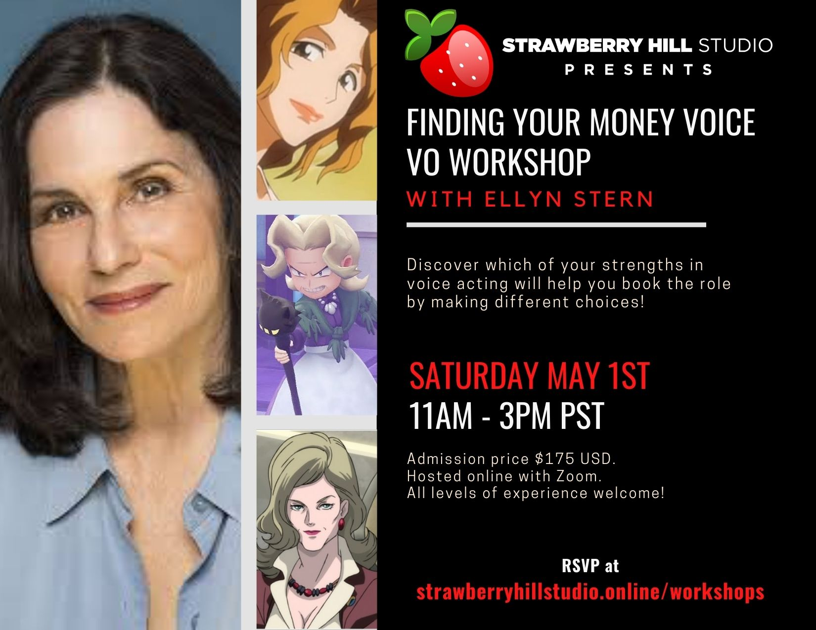 Finding Your Money Voice - VO Workshop w/ Ellyn Stern