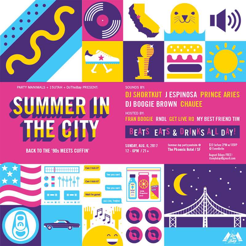 Summer in The City - Back to the 90s meets Cuffin' / Day Party