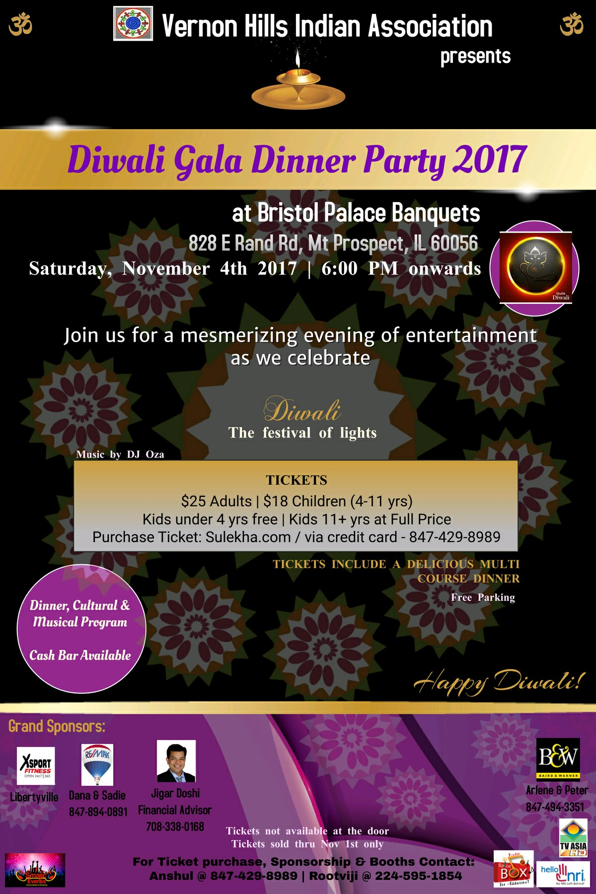 Diwali Gala Dinner Party