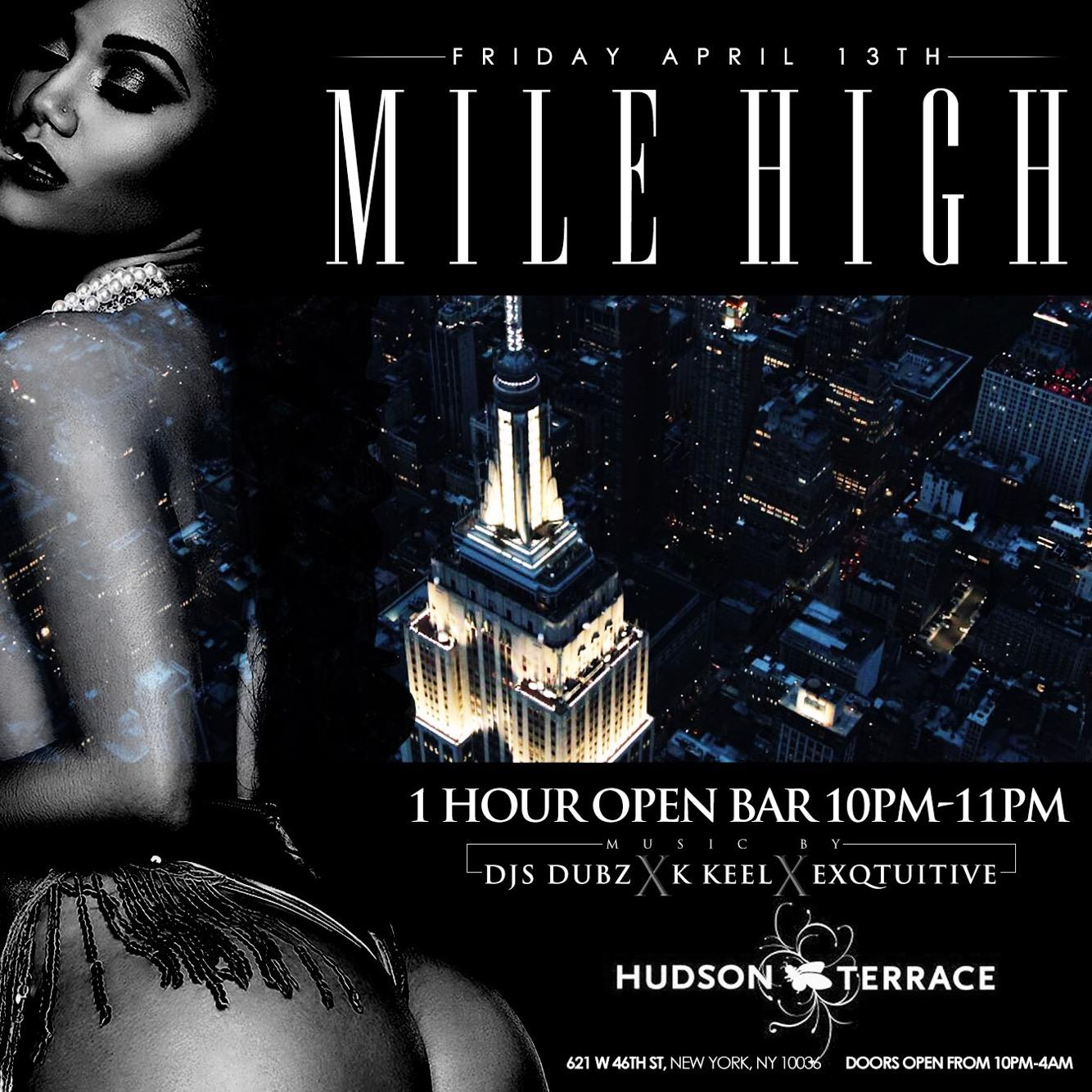 Mile High Rooftop Night Party in NYC