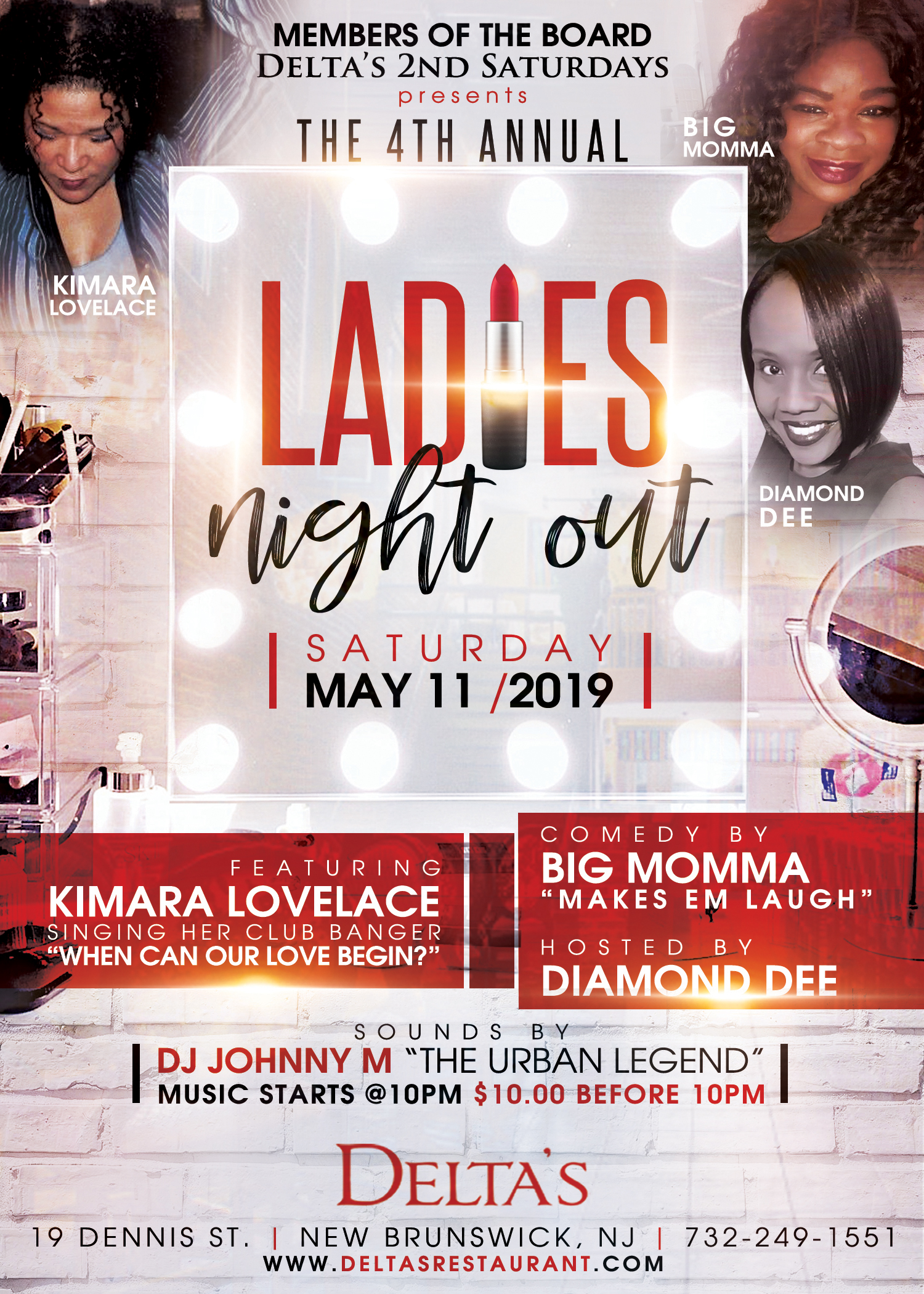Ladies Night with Kimara Lovelace and Big Momma 2019