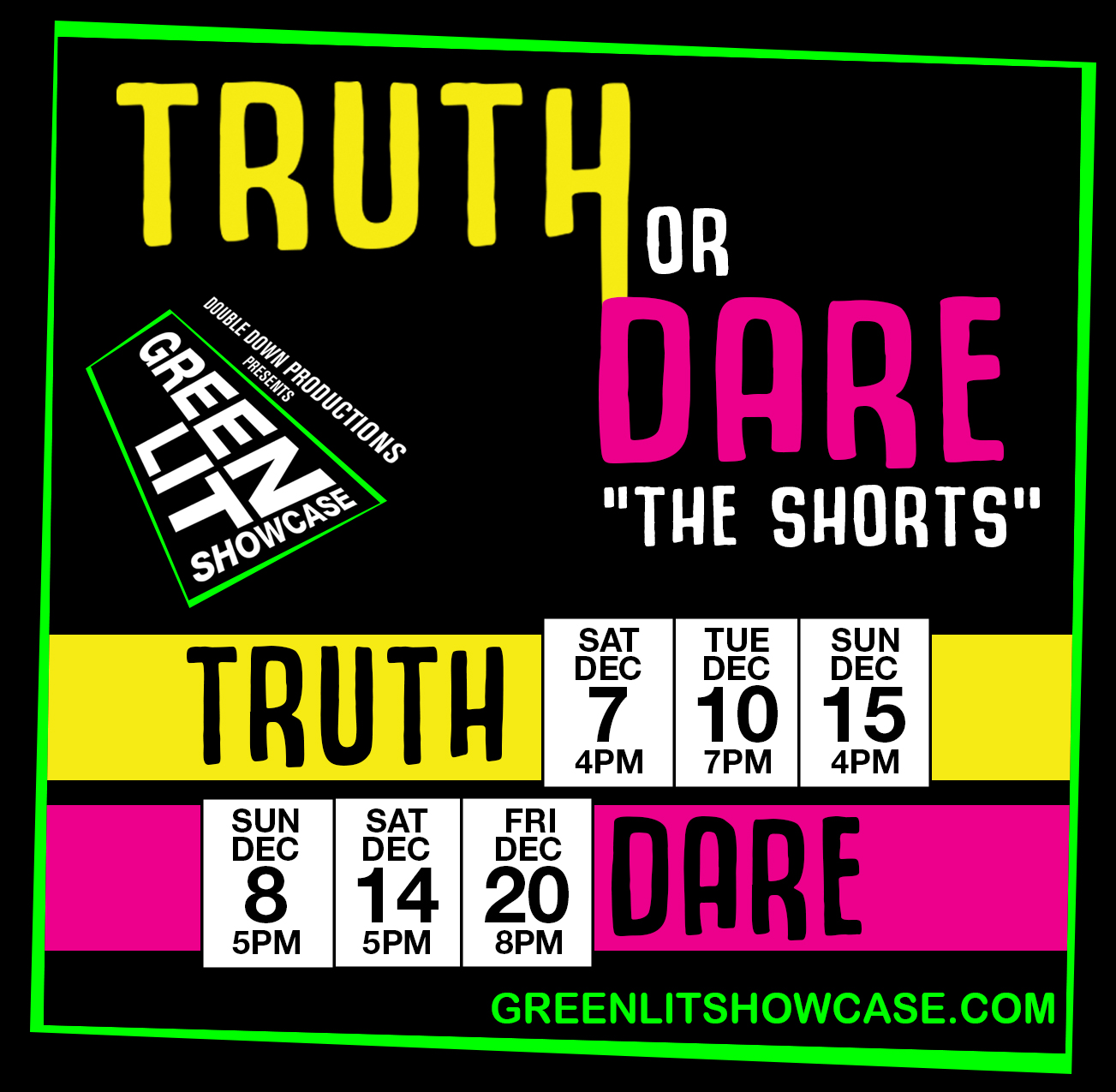 Truth One Acts - Sun Dec 15th