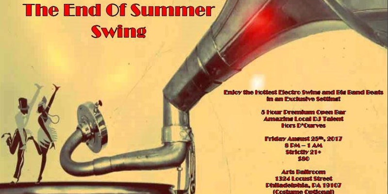 Indulgence Presents: The End Of Summer Swing