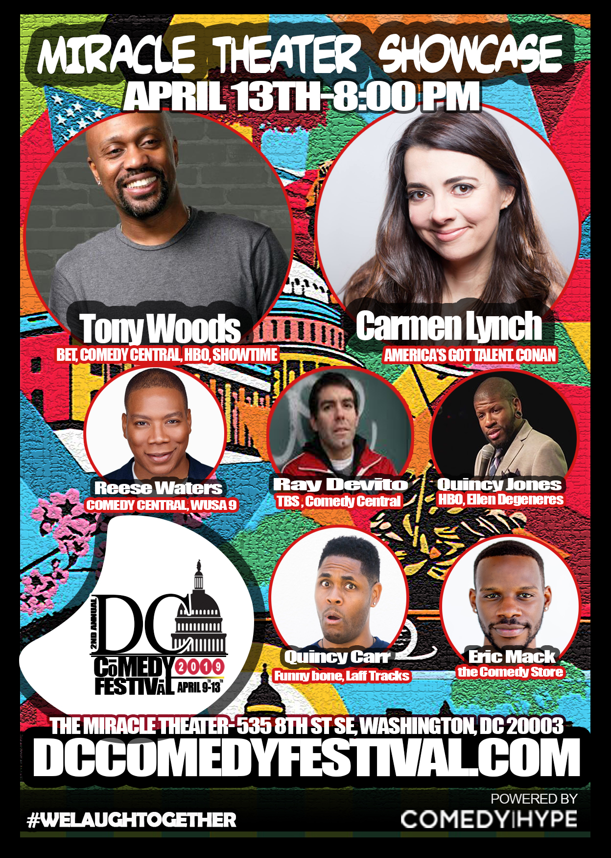 DC Comedy Festival: Tony Woods and Carmen Lynch
