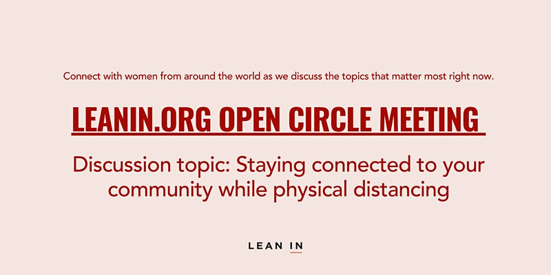 LeanIn.Org Open Circle Meeting