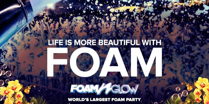 "Foam N' Glow Philadelphia, PA ""World's Largest Foam Party"""