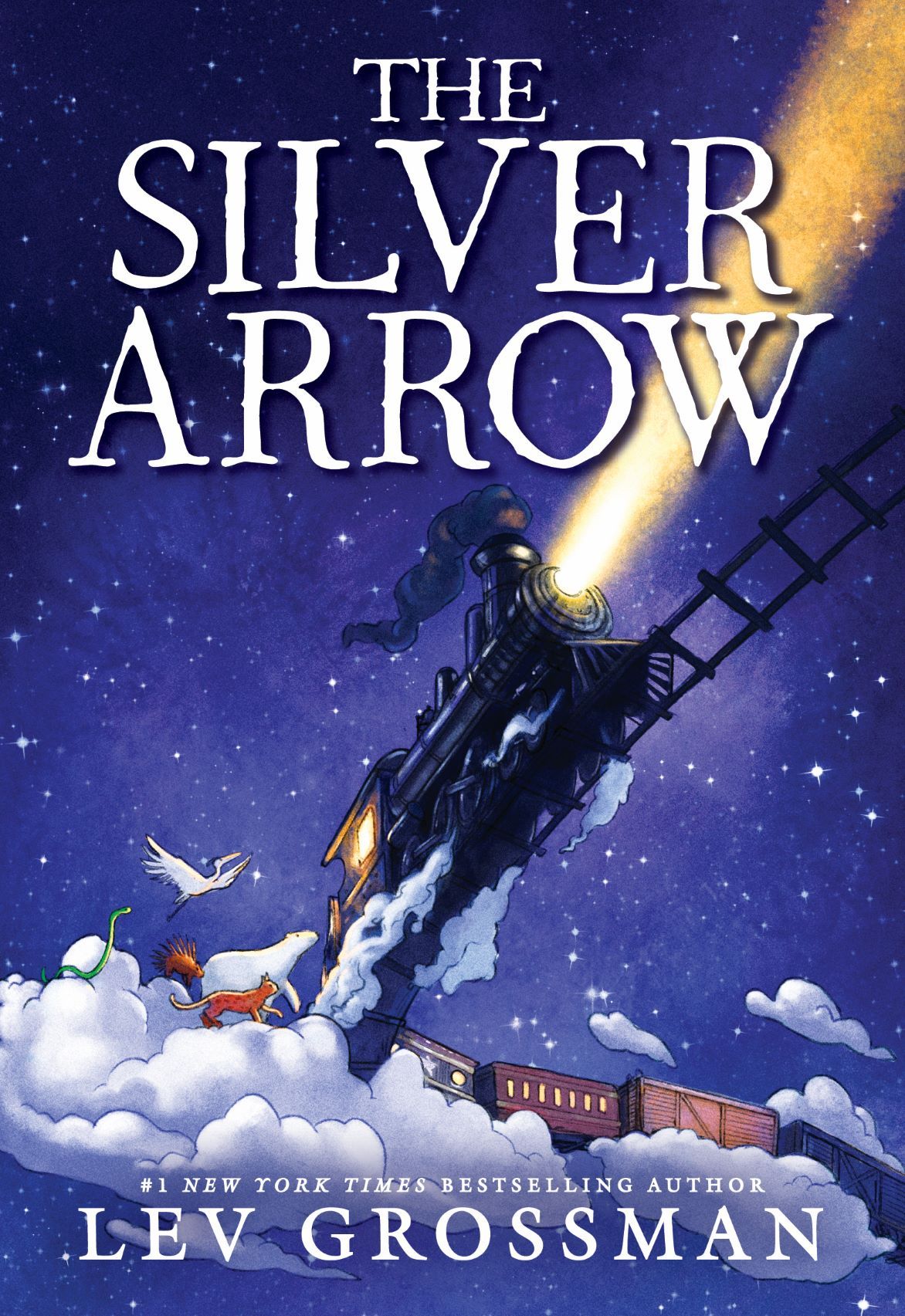 Virtual event with Lev Grossman/The Silver Arrow
