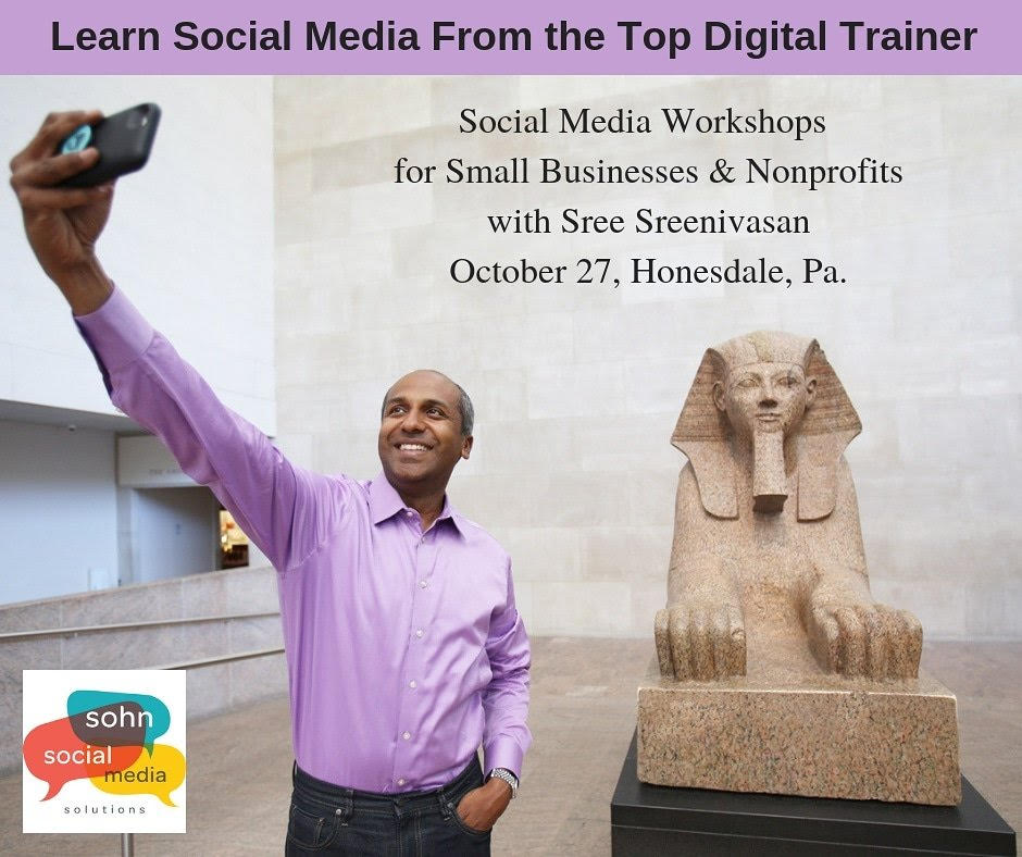 Sree's Social Media for Non-profits Workshop, PA