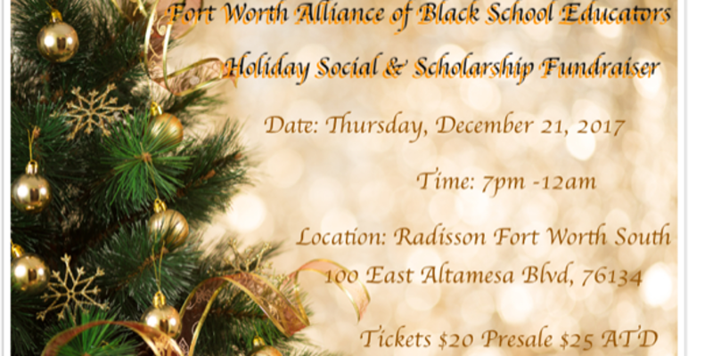 Holiday Social and Scholarship Fundraiser