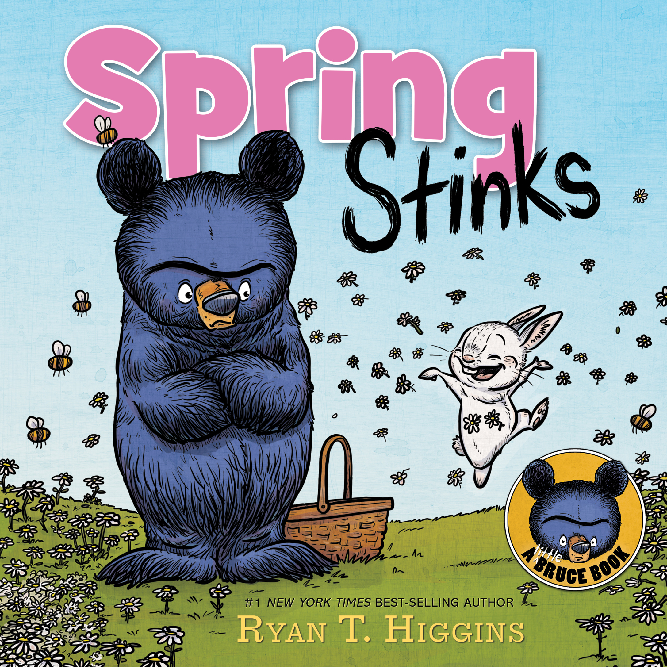 Virtual event with Ryan T. Higgins/Spring Stinks