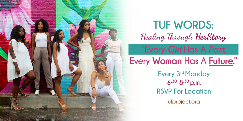 TUF Words: Healing Through HerStory (Monthly Women's Gathering)