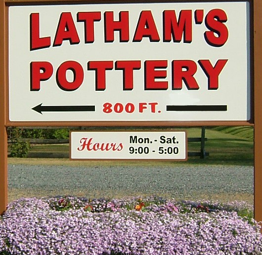 Latham's Pottery Spring Open House