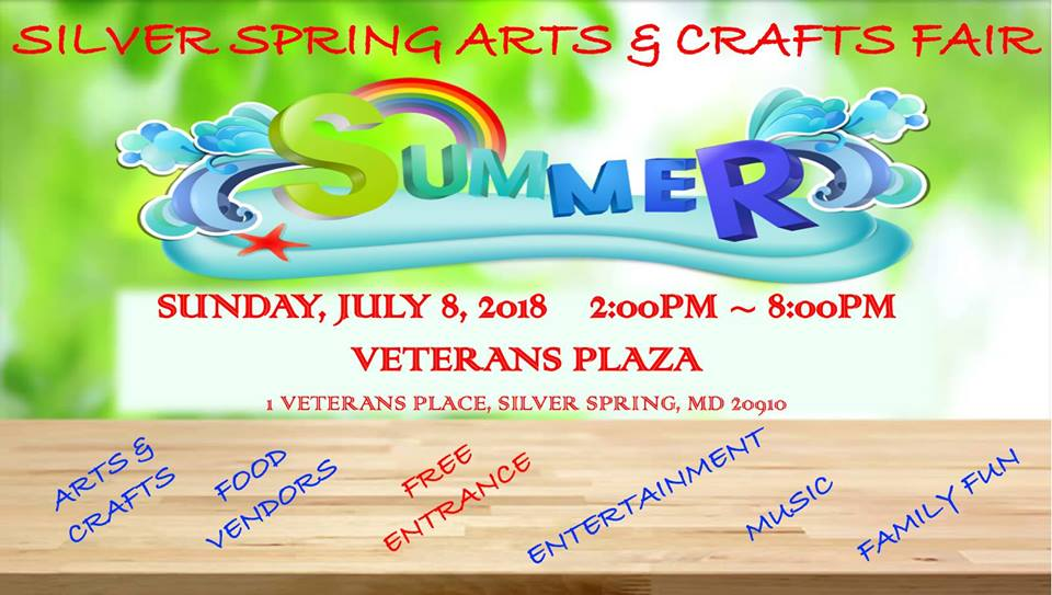 Silver Spring Arts & Crafts Summer Fair
