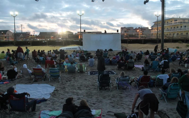 Movies On The Beach - The Spongebob Movie