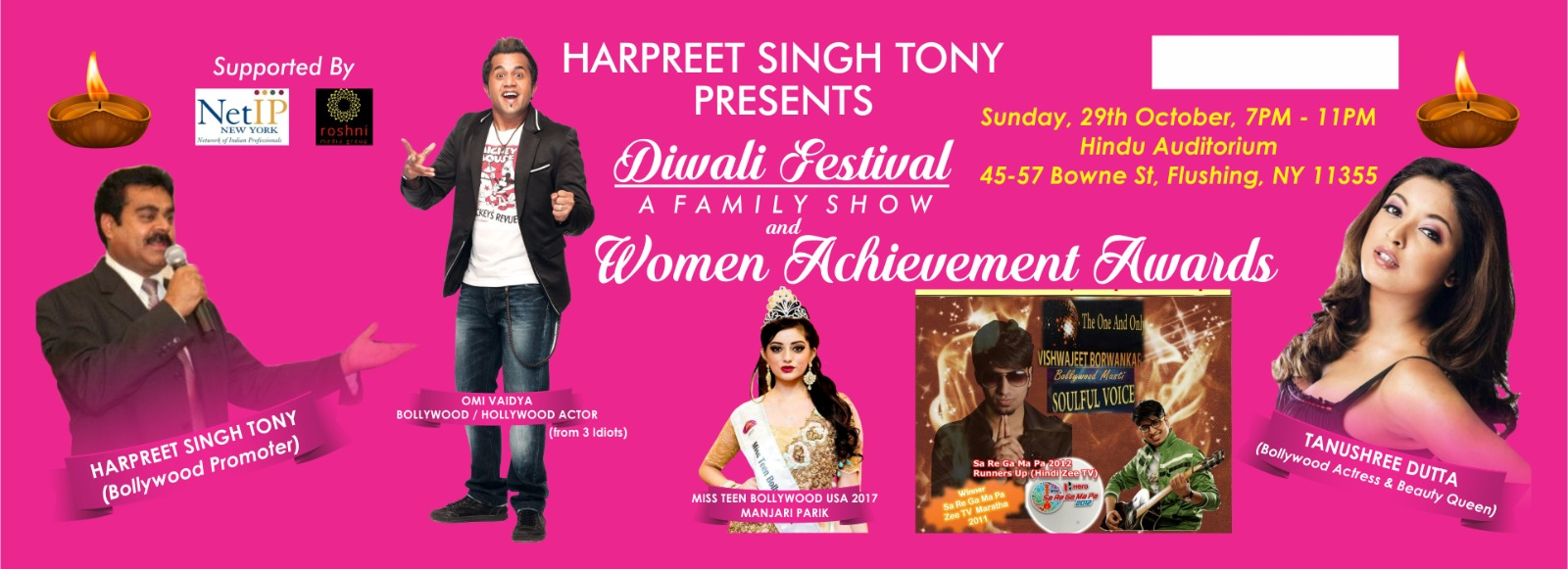 Diwali Festival - A Family Show and Women Achievement Awards