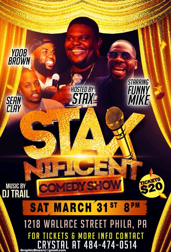 Stax Nificent Comedy Show