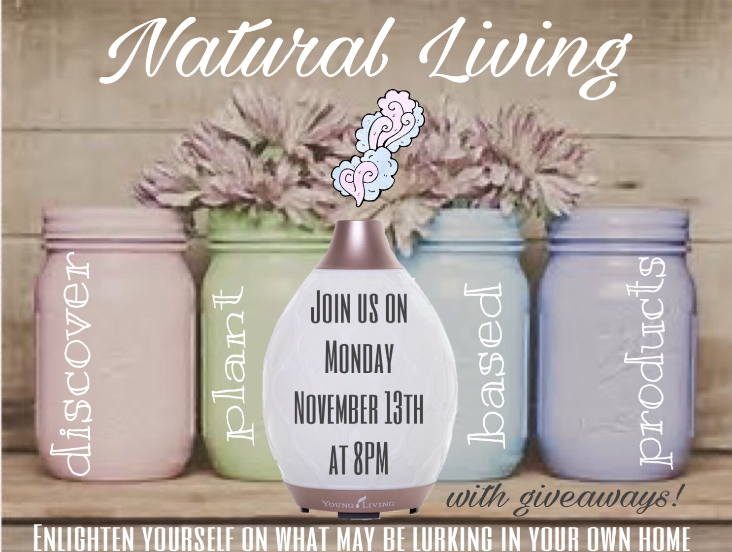 Natural Living with Plant-Based Products ONLINE Event