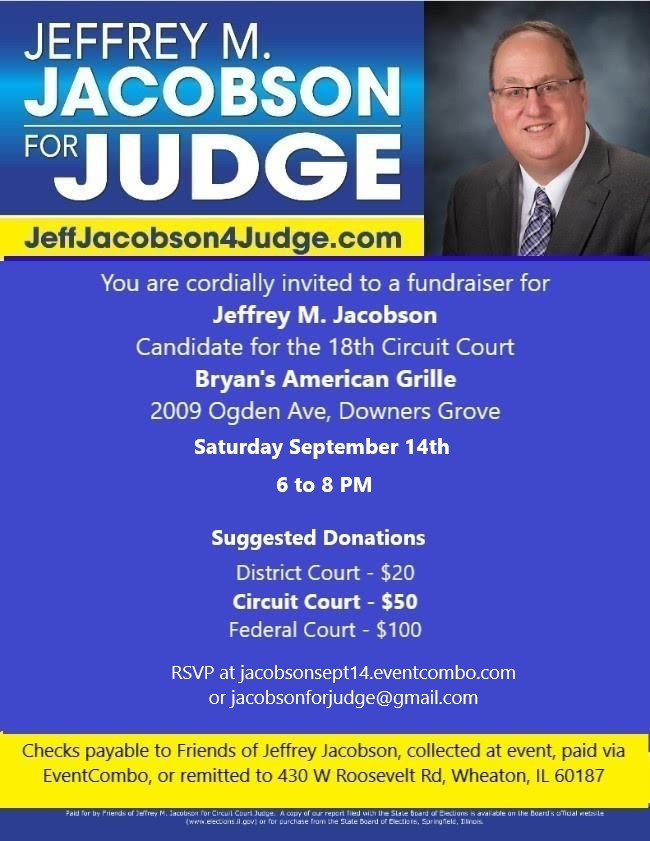 Fundraiser for Jeff Jacobson - Bryan's Grille
