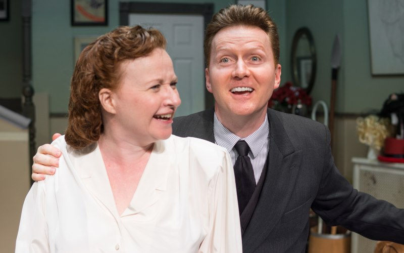 Moon Over Buffalo presented at Studio Playhouse in Upper Montclair