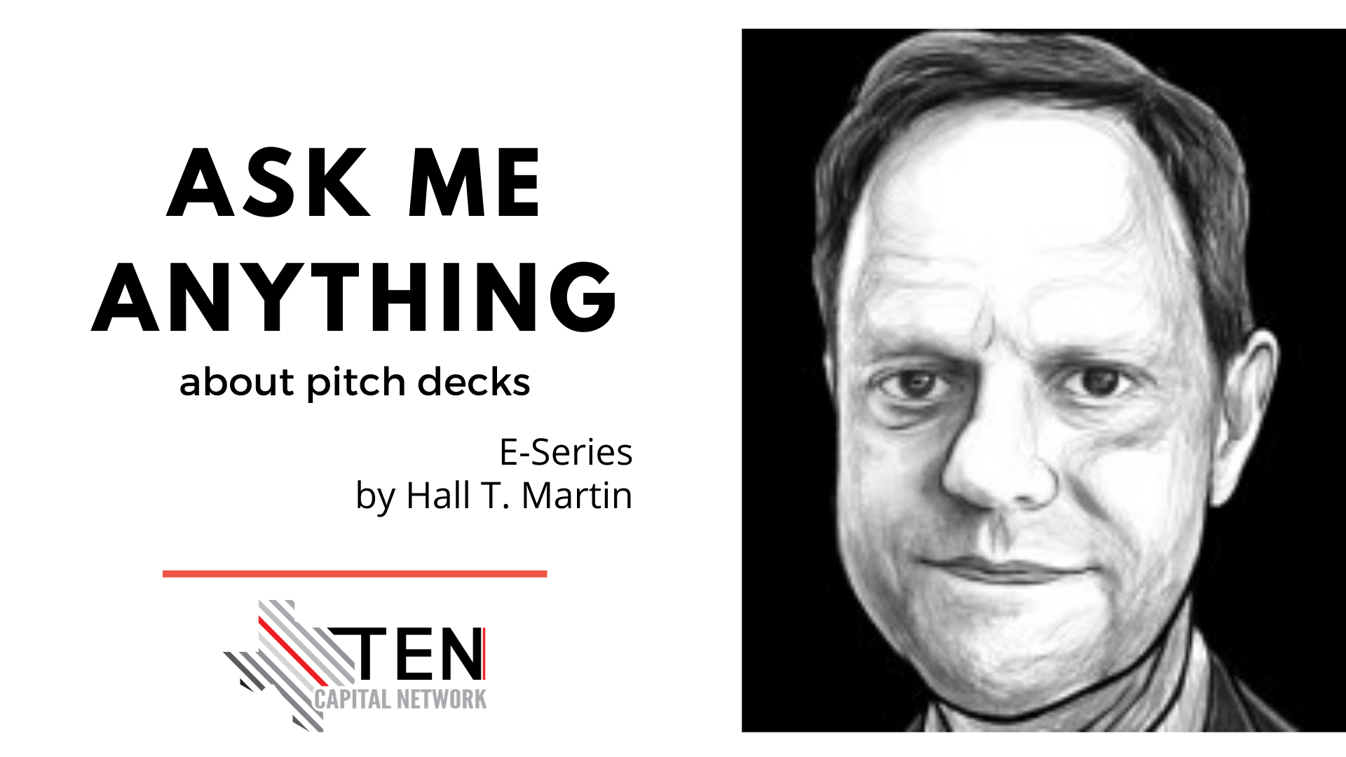 "TEN Edu E-Series: ""Ask Me Anything"" About Pitch Decks"