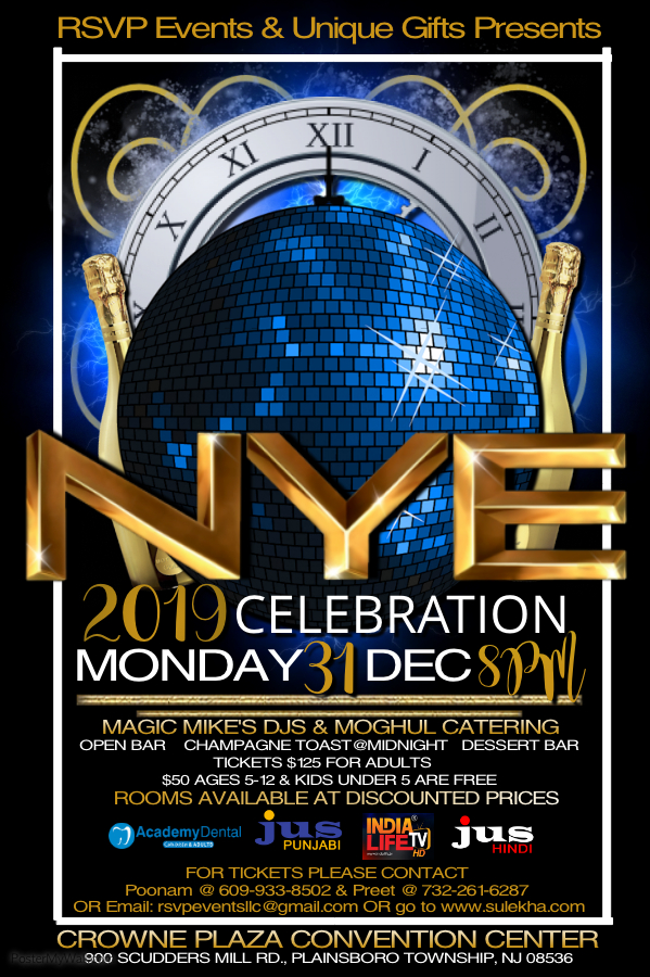 RSVP Events New Year Celebration 2019