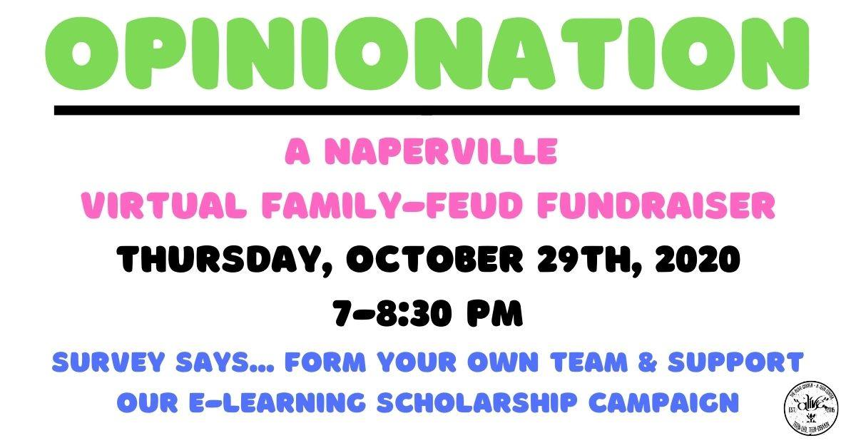 OpinioNation - a family feud fundraiser