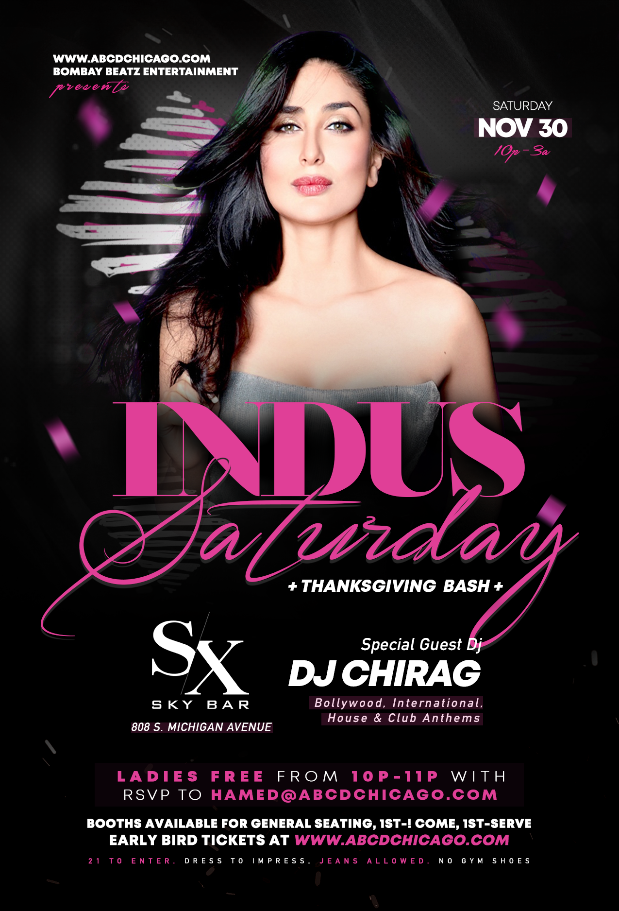 Indus Saturday - Thanksgiving Weekend Bash