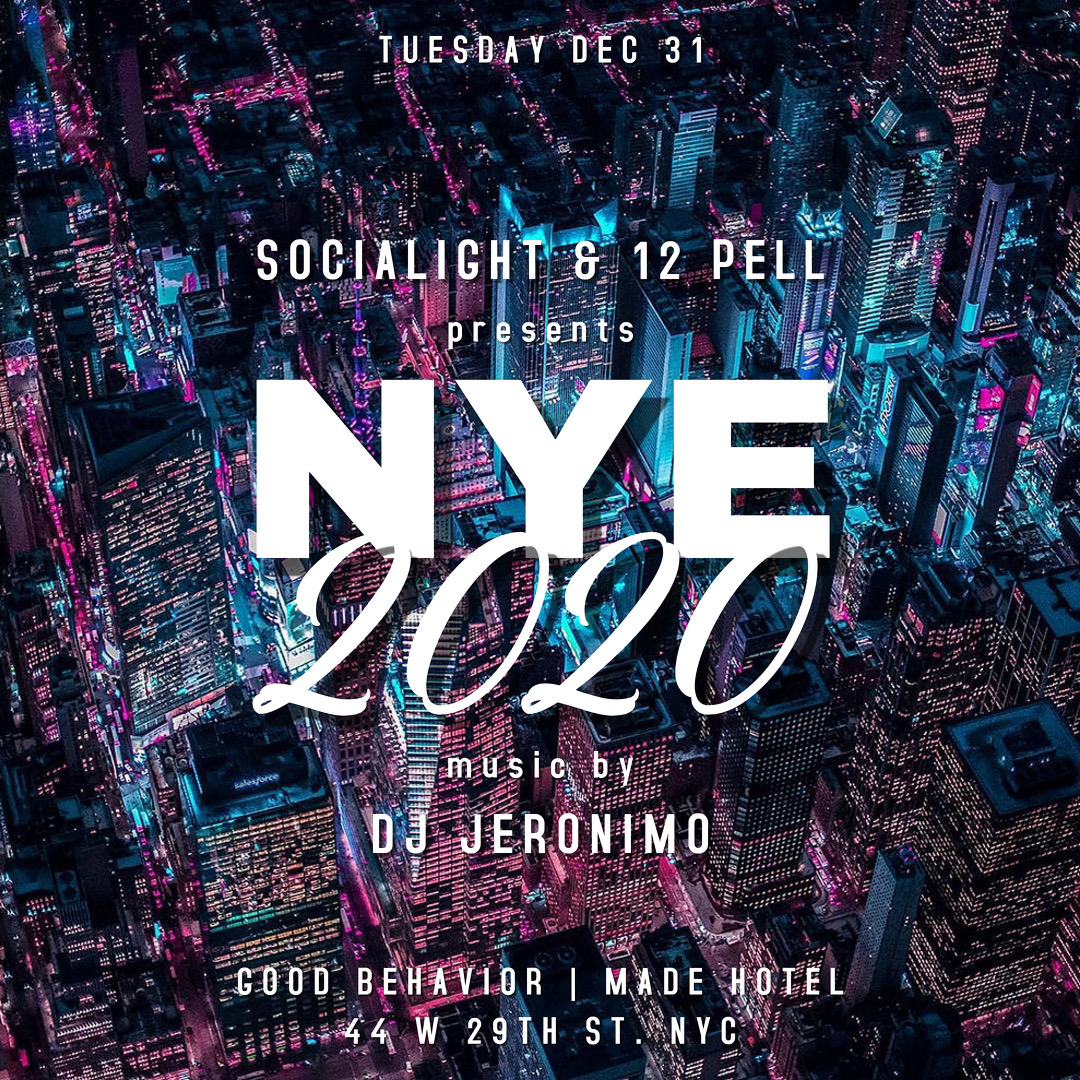 New Year's Eve at Good Behavior Rooftop