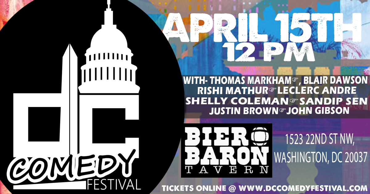DC Comedy Festival: Comedy Brunch
