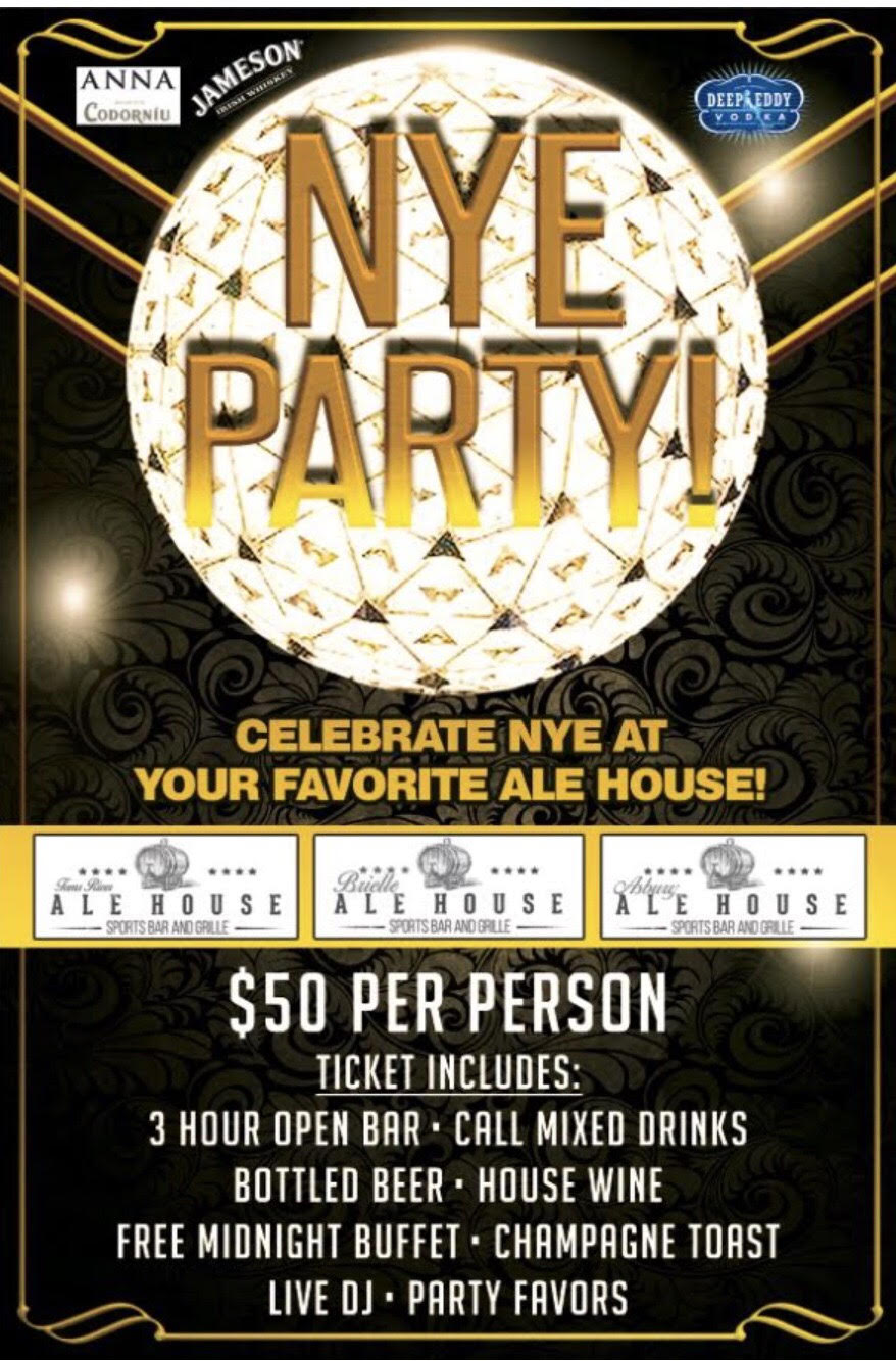 Asbury Ale House New Years Eve Party 2018
