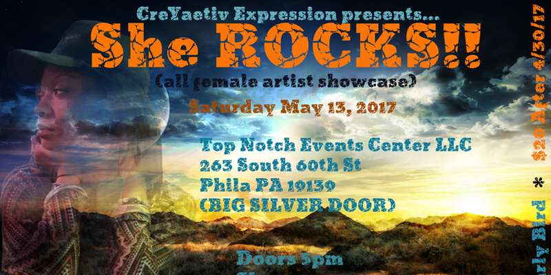 CreYaetiv Expression presents: She ROCKS!!
