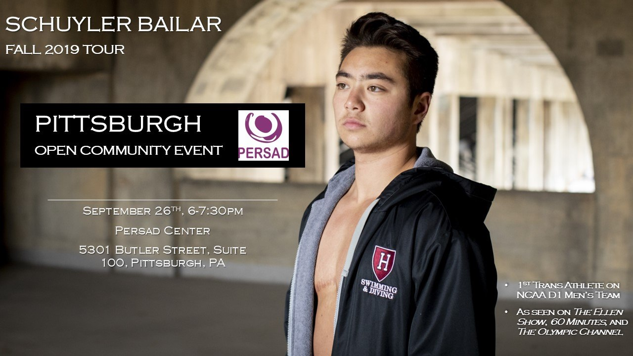 Schuyler Bailar Speaks in Pittsburgh