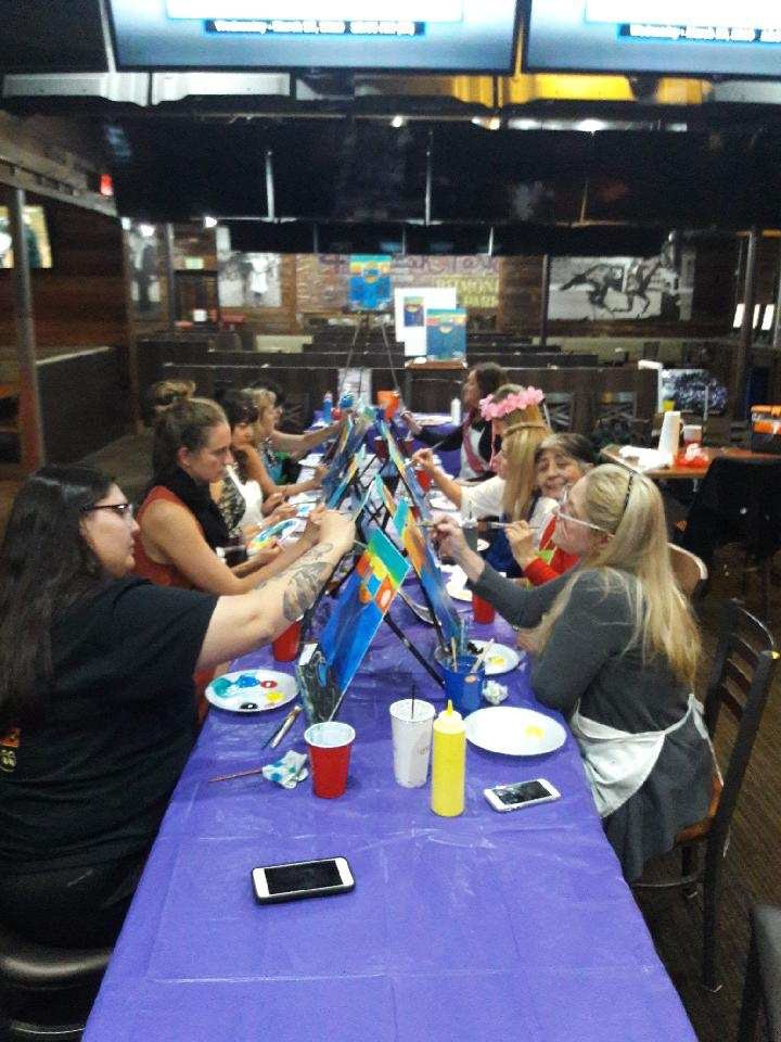 Wednesdays Paint Sessions at Sammy's