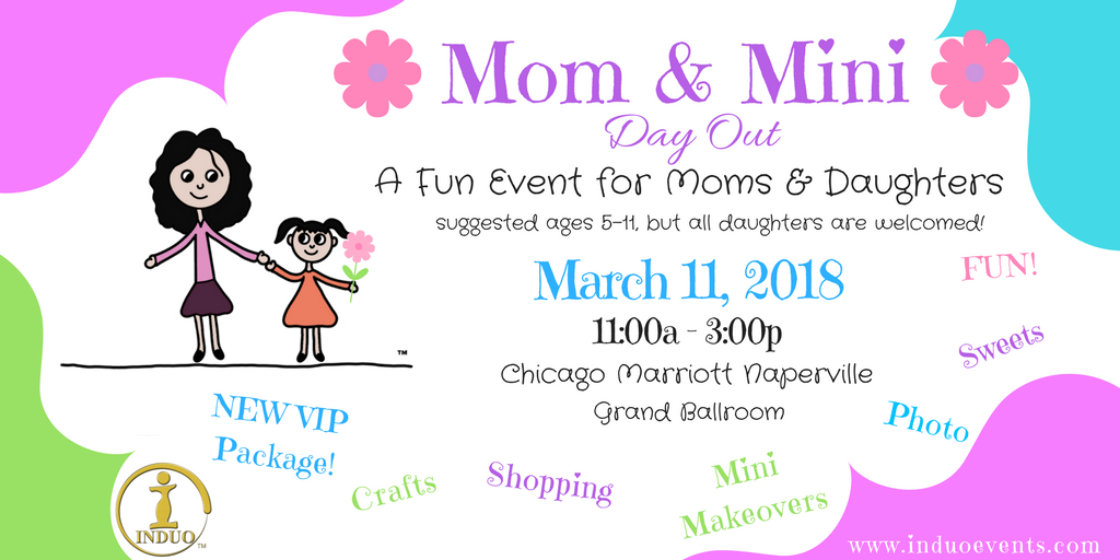 SOLD OUT! Mom & Mini Day Out - A Mother Daughter Event! 3/11/18