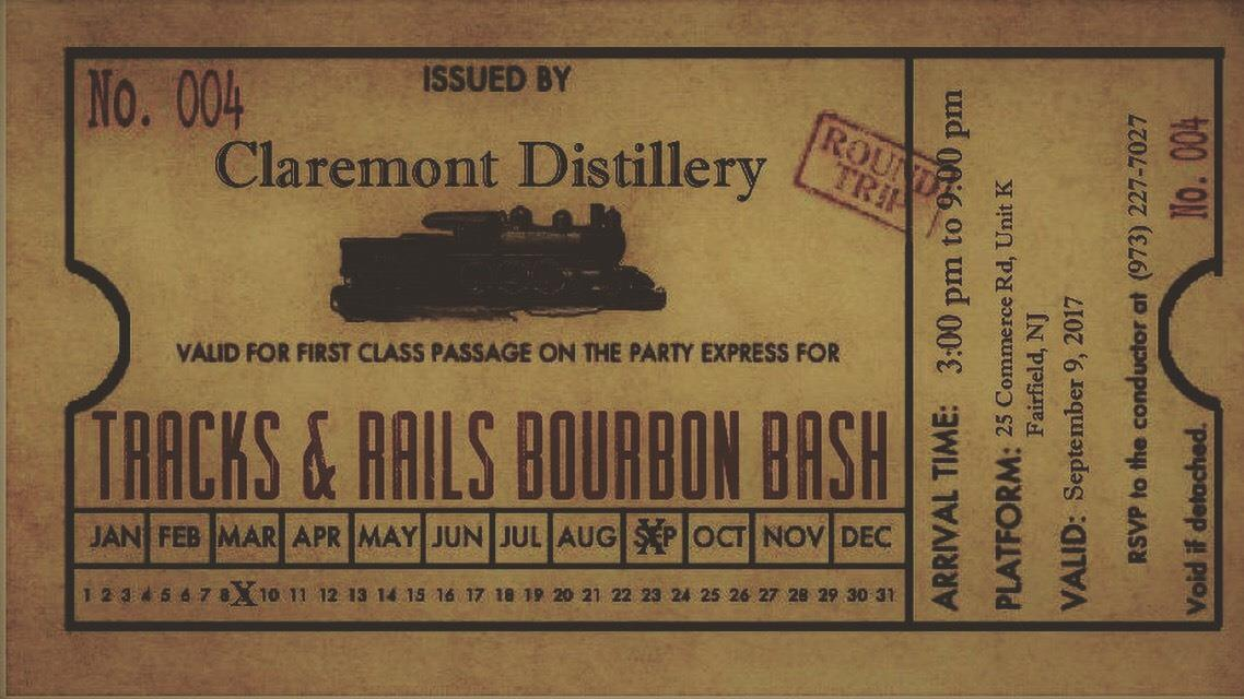 Tracks & Rails Bourbon Release Bash