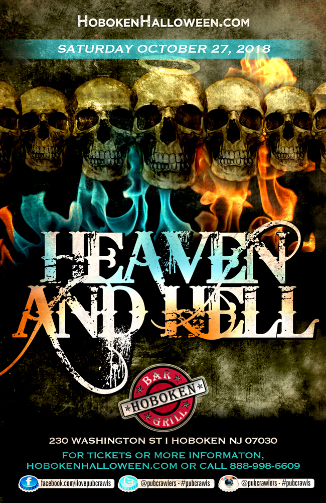 "3rd Annual ""Heaven & Hell"" Halloween at Hoboken Bar & Grill"