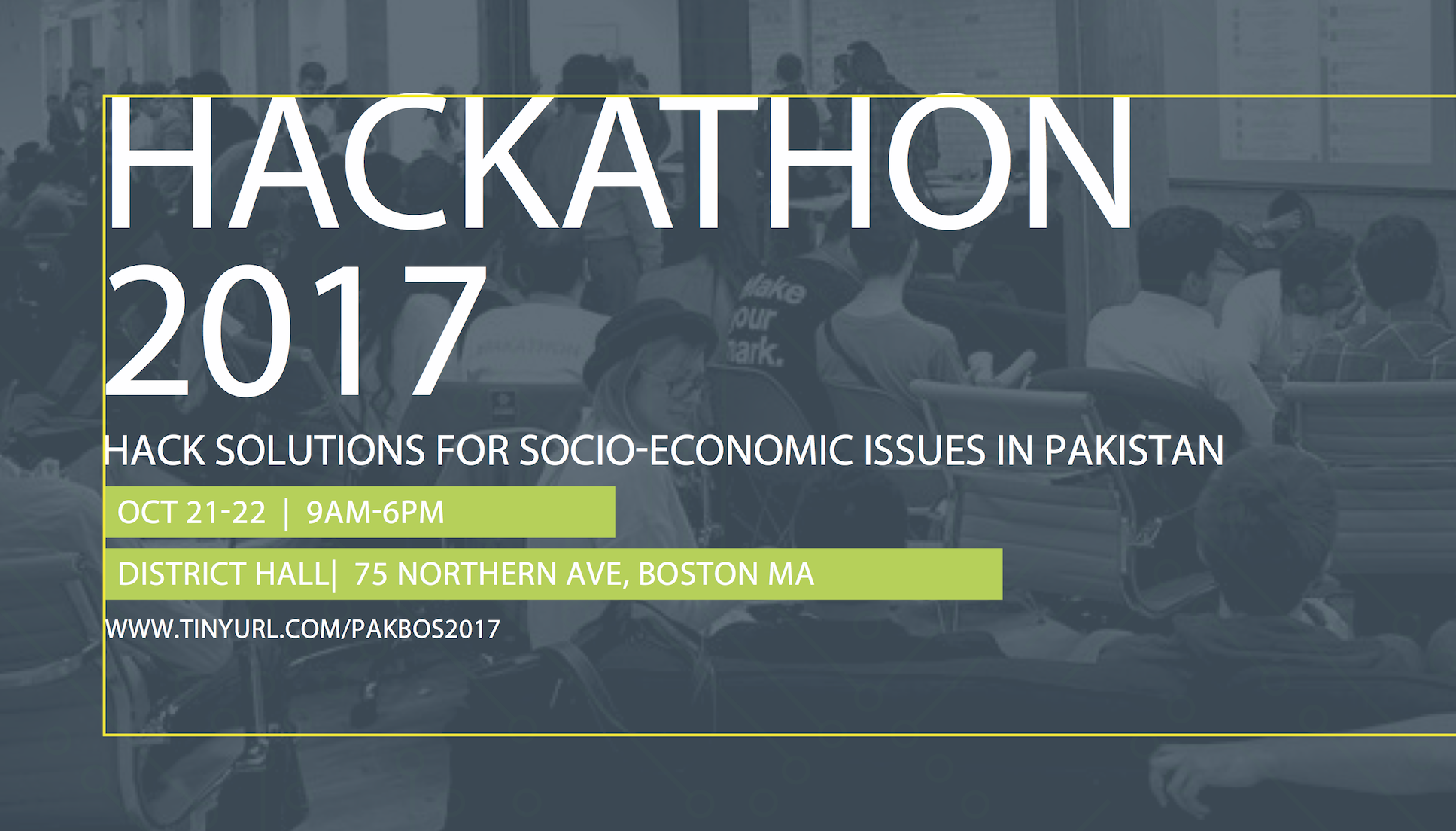 Pakathon Boston Hackathon 2017