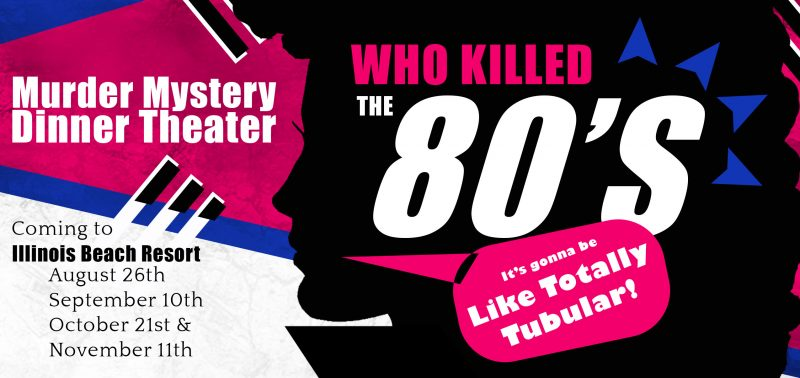Who Killed the 80's Comedic Dinner Theater