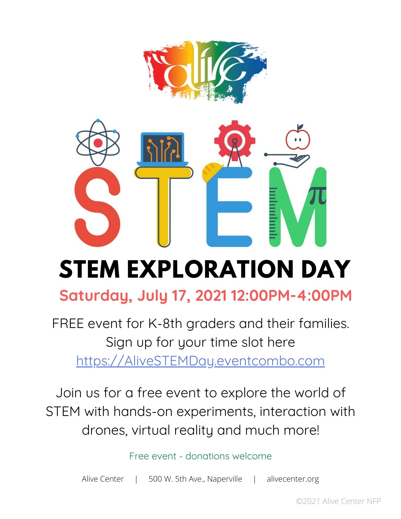 Free STEM Exploration Day for Families