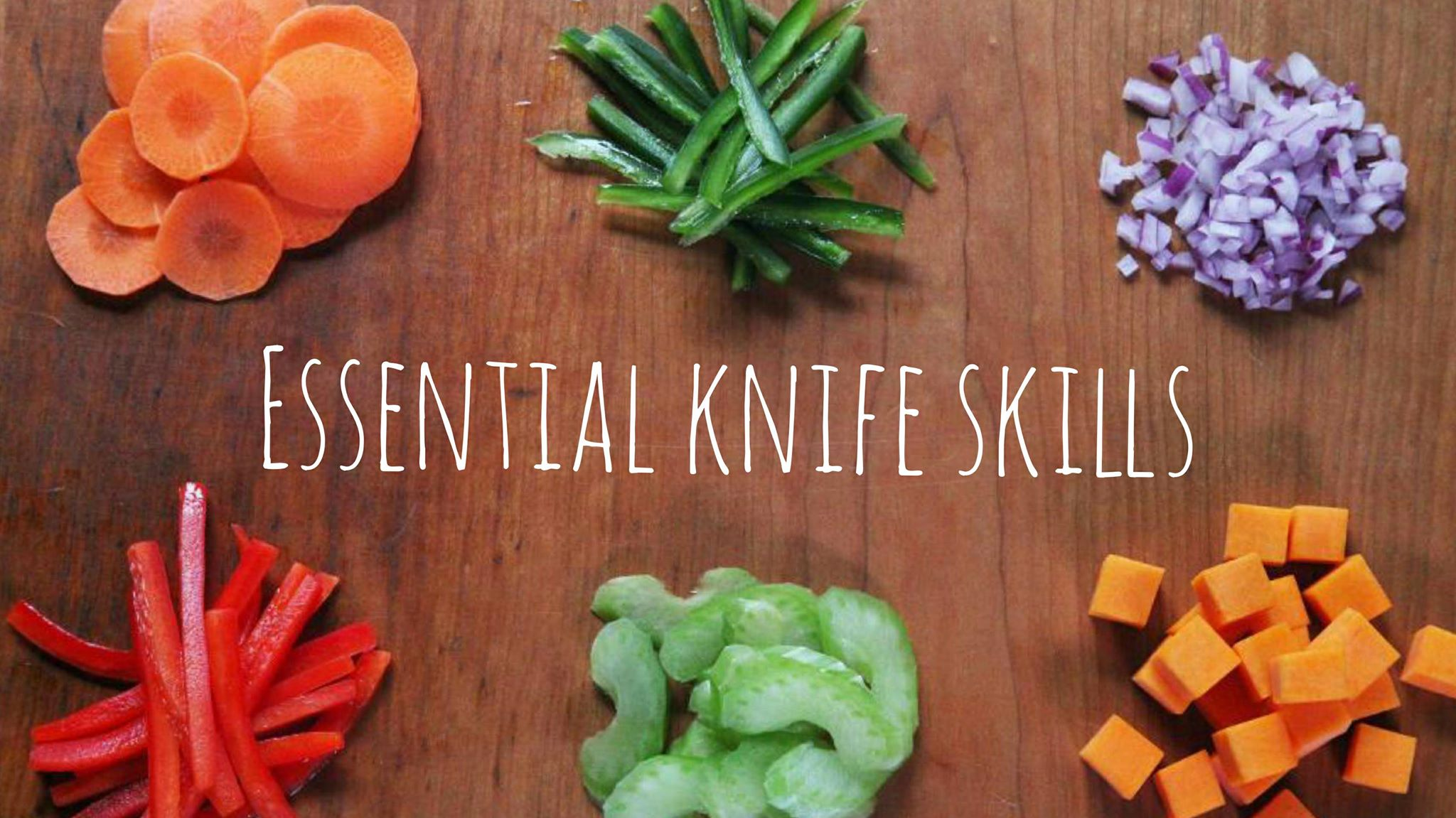 Essential Knife Skills Cooking Class