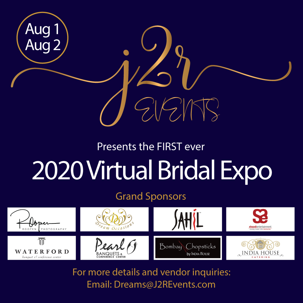 J2R EVENTS VIRTUAL BRIDAL EXPO 2020