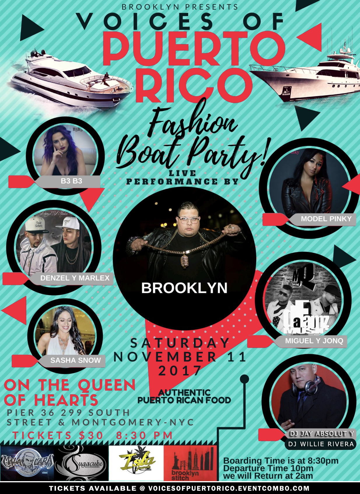 Voices Of Puerto Rico Fashion Boat Party