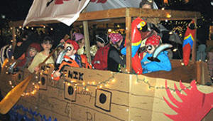 Holiday Valley's Winter Carnival and Mardi Gras Parade