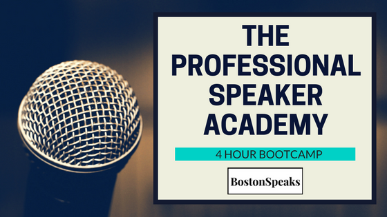 Professional Speaker Academy 4-Hour Bootcamp
