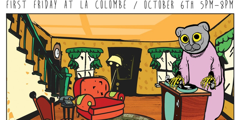 La Colombe First Friday October 6th